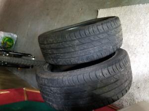 2 205/50/ZR17 Barum Bravuris All Season Tires great shape