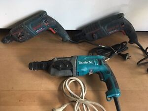 Makita/ Bosch Electric Rotary Hammer Drills Brunswick East Moreland Area Preview