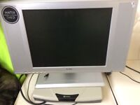 FREE LCD TV with integrated DVD player