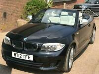 BMW 120 2.0TD 2012 Exclusive Edition convertible