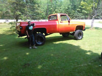 87 gmc 7 inch lift will trade for two sleds