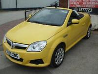 VAUXHALL TIGRA 1.4i 16v AIR CONVERTIBLE YELLOW 41K MILES MINT CONDITION