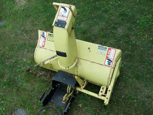 John Deere Snow Thrower / Blower Attachment Stratford Kitchener Area image 5