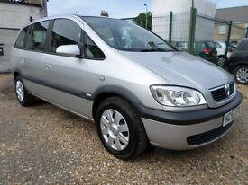 Vauxhall Zafira 1.6I 16V DESIGN (silver) 2005