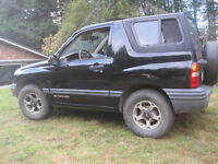 1999 Chevrolet Tracker Coupe (2 door)