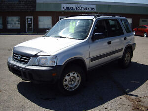 1997 Honda CRV AWD Automatic    Safety/warranty