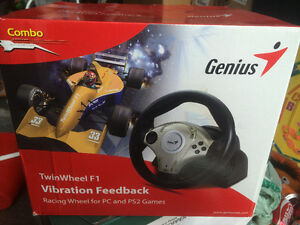 Genius TwinWheel F1 for PC and PS2