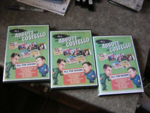 THE COMPLETE WORKS OF ABBOTT & COSTELLO ON 28 DVDS