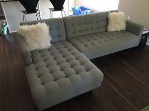 Mid-century Modern style sectional
