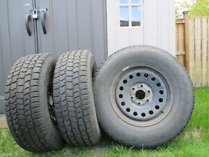 (4x) Cooper Discoverer All-Weather Tires