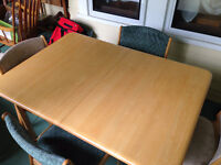 Dining table and 6 chairs *price reduced!*