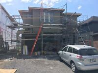 Stucco Labourer needed with car