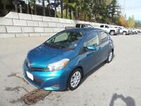 2014 Toyota Yaris L/LE local one owner