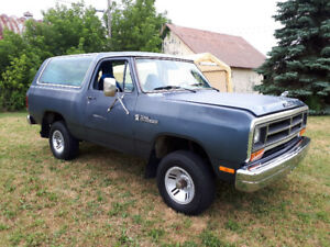 Rare 1986 Dodge RamCharger