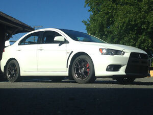 2008 Mitsubishi Evolution MR Sedan