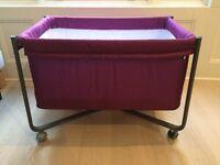 Cambrass 56.5 x 92 x 64.5 cm Small Bed/crib Urban Liso E (Small, Purple/ Black)