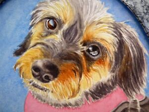 Pet and children portraits in watercolor, Some biblical paint