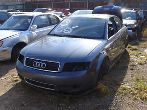 2003 Audi A4 just arrived at U-Pull-It Elmira