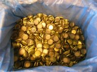 500 New Lined Bottle Caps for Home Brewing