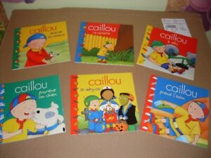 Livre collection Caillou