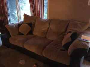 Couch, love seat, and chair!