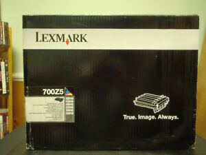 New Lexmark 700Z5 Black and Colour Imaging Kit