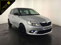 2010 60 SKODA FABIA VRS AUTO 5 DOOR HATCHBACK SERVICE HISTORY FINANCE PX WELCOME