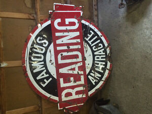 $$CASH PAID$$. Old signs/Advertising of any kind.