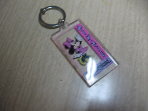 Minnie Mouse pen and Keychain from Disneyland