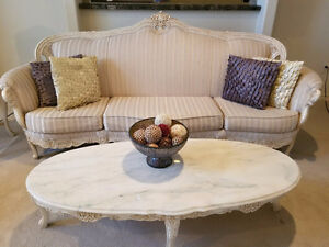 Classical Sofa Set & Coffee Tables Set FOR SALE!