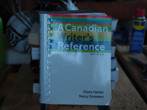 A Canadian Writer's Reference, 5th Edition.