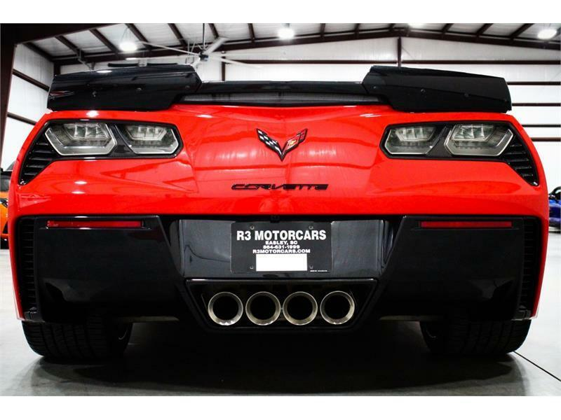 2016 Red Chevrolet Corvette Z06 2LZ | C7 Corvette Photo 4