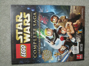 Lego Star Wars: The Complete Saga - Game Guide(xbox 360,wii,ps3)