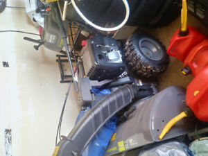 Snowblower for sale like new 358cc must sell