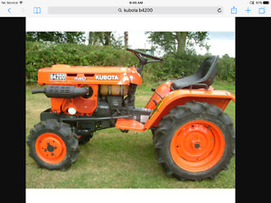 Looking for kubota parts