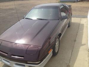 1989 Chrysler Daytona ES 2.5 Turbo - 5 speed
