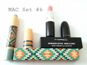 MAC MAKEUP SET #6: CREMESHEEN LIPSTICK + PATENTPOLISH LIP PENCIL