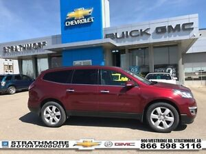 2016 Chevrolet Traverse AWD-Dual Sunroof-Heated seats-Quad chair