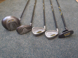 Youth Left-handed Golf Clubs - Touring Pro - Barely Used