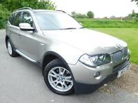 2009 BMW X3 xDrive30d SE 5dr Step Auto Full BMW SH! Full Leather! 5 door Est...