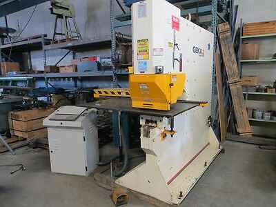 Geka Hydraulic Single End Punch Wcnc X-y Positioning Table
