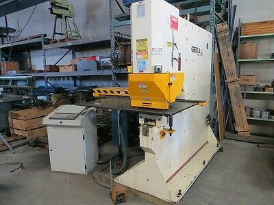 Geka Hydraulic Single End Punch W Cnc X-y Positioning Table