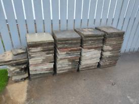Patio paving slabs 450mm