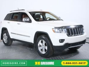 2012 Jeep Grand Cherokee Overland BLUETOOTH CAMERA RECUL CUIR NA