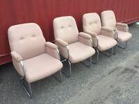 Retro board room chairs