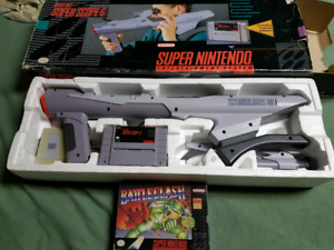 Super Scope 6 SNES Complete with Battleclash complete