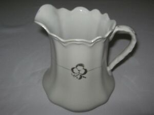 ANTIQUE ROYAL SEMI-PORCELAIN MILK PITCHER