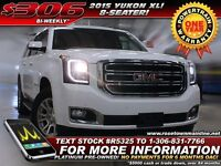 2015 GMC Yukon XL 1500 SLE 8-Seater | Bluetooth | Low KM