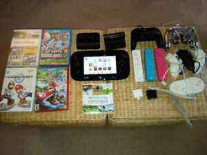 WiiU Deluxe, Games, and Controllers - $400 or Best Offer
