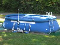20 X 12 Intek Pool - SUMMERS HERE KIDS!